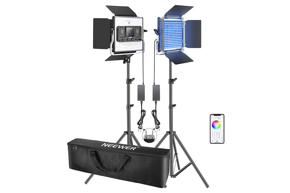 Neewer480 RGB Led照明キット