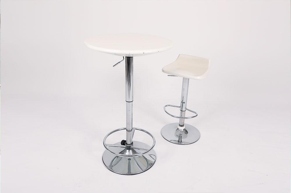 カウンター丸テーブル&チェア